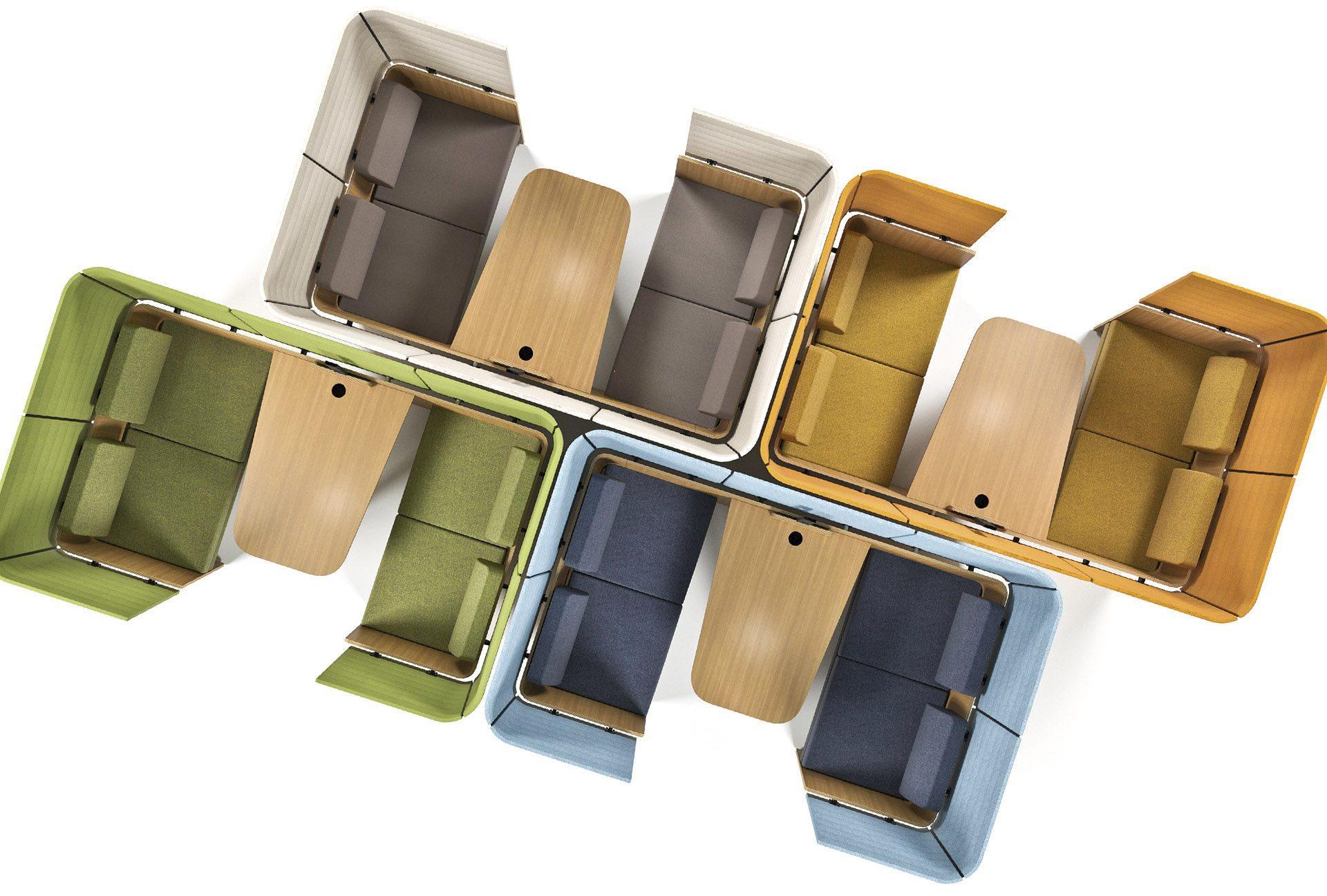 Valitse Arcipelago Woodin värit juuri yrityskuvasi mukaiseksi